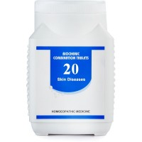 Bakson Biochemic Combination 20 (450g) : Skin Diseases, Acne, Eczema, Psoriasis, Cracks & chaps, Postoperative scars
