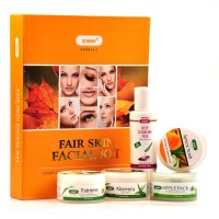 Bakson Sunny Fair Skin Facial Kit (1Pack) : Complete Kit That Leaves Your Skin Fair, Hydrated, Soft & Glowing