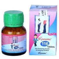 Bioforce Blooume 116 Grow-T Tablets (30g) : Helps to Increase Height and Overall Development of Children