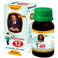 Bioforce Blooume 12 (Digestisan) Drops (30ml) : For Indigestion, Pain, Gas in Stomach, Acidity, Flatulence, Constipation