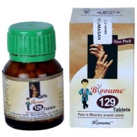 Bioforce Blooume 129 Rheumasan Tablets (30g) : For Pain, Stiffness in Joints, heaviness, Back Pain, Sprains