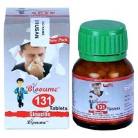 Bioforce Blooume 131 Sinusan Tablets (30g) : For Sinusitis, Nose Blockage, Thick Discharge, Headache, Nasal Polyp