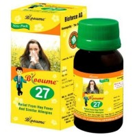 Bioforce Blooume 27 (Pollinosan) Drops (30ml) : For Pollen Allergies with Sneezing, Watery, Blocked Nose