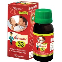 Bioforce Blooume 33 Viryagro Drops (30ml) : For Male less Sexual Power, Erectile Dysfunction, Early Ejaculation