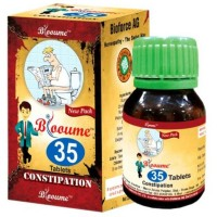 Bioforce Blooume 35 Constiposan Tablets (30g) : Regulates Bowel Movement, Chronic Constipation, Indigestion