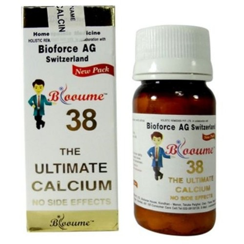 Bioforce Blooume 38 Urticalcin Tablets (30g) : Helps to Strengthen Bones, Relieves Bone Pains, Cramps
