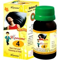 Bioforce Blooume 4 (Bio Hair) Drops (30ml) : For Hair Loss, Premature Graying, Dandruff, Strengthen Hair Roots