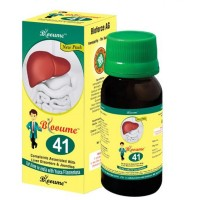 Bioforce Blooume 41 Bio Liv Syrup (100ml) : For Liver Disorders, Digestion, Loss of Appetite, Jaundice, Fatty Liver