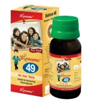 Bioforce Blooume 49 FE-Tone (Iron Tonic) (100ml) : A General Iron Tonic Useful in Increasing Hemoglobin, Increase Appetite