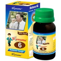 Bioforce Blooume 6 (Biotussin) Drops (30ml) : For Dry, Spasmodic Cough, Bronchitis, Whooping Cough, Night Cough