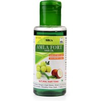 SBL Amla Forte Hair Oil (100ml) : Controls Hair Fall, Adds Luster & Makes Hair Long, Strong, Thick & Healthy