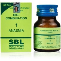 SBL Bio Combination 1 (25g) : Iron Deficiency, Anemia, Poor Digestion, Wasting of body, Low feeling