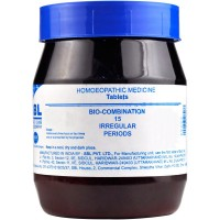 SBL Bio Combination 15 (450g) : Helps Regulate Menses, scanty/profuse, Relieves pain, cramps during menses