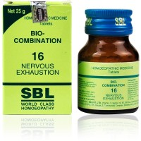 SBL Bio Combination 16 (25g) : Relieves Night terrors, confusion, Impaired memory, weakness, exam stress