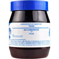 SBL Bio Combination 17 (450g) : For Bleeding Piles (Hemorrhoids), Fissures, Internal piles with pain