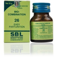 SBL Bio Combination 26 (25g) : Relieves Labor Pains for Easy Delivery, Lowers pain during pregnancy