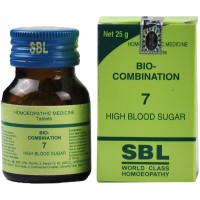SBL Bio Combination 7 (25g) : Maintain Blood Sugar, Relieves Impaired Liver, Kidney Functions