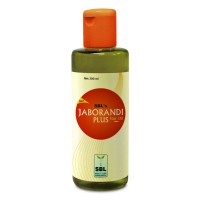 SBL Jaborandi Plus Hair Oil (200ml) : Premature Greying, Stimulates Hair Growth, Itching Scalp, Dandruff