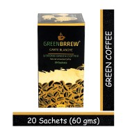 Greenbrrew Green Coffee For Weight Loss (Strong Flavor) - 20 Sachets, Each 3g