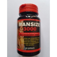 Mansize 3000 Maximum Strength Male Enhancement Formula