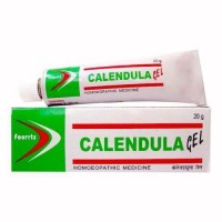Fourrts Calendula Gel 20gm For Wounds, Cuts, Burns & Skin Problems