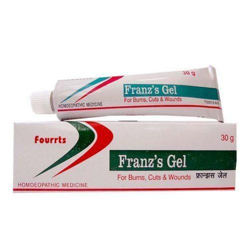 Fourrts Franz Gel 30gm For Wounds, Burns, Bed Sores, Cuts, Skin Problems & Diabetic Foot