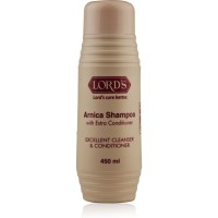 Lords Arnica Shampoo (450ml) : For Hair Problems Like Dandruff, Hair Fall and Premature Graying