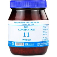 Lords Bio Combination No 11 (450g) : Lowers the High Body temperature in Flu, Cold, Chills with Body Pains