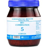 Lords Bio Combination No 5 (450g) : For Coryza, Thick Nasal Discharge, Sinusitis, Sneezing, Nasal Blockage