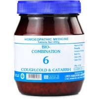 Lords Bio Combination No 6 (450g) : For Cough, Cold, Sneezing, Rattling Cough, Difficult breathing