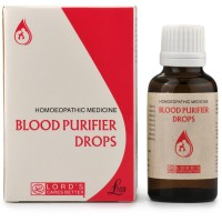 Lords Blood Purifier Drops (30ml) : A Blood Purifier, Helps in Skin Diseases, Acne, Pimples, Boils, Eczema