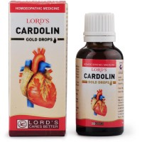 Lords Cardolin Gold Drops (30ml) : Effective in Palpitations, Anxiety, Heart Pain, regulates Pulse, Heart tonic