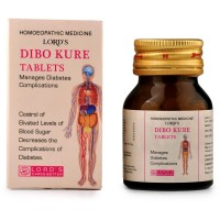 Lords Dibokure Tablets (25g) : Lowers High Blood Sugar, Maintains blood sugar, Weakness