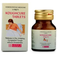 Lords Koughcure Tablets (25g) : For Cough, Chest Congestion, Bronchitis, Chest Pain During Dry Cough