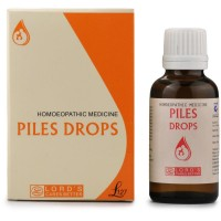 Lords Piles Drops (30ml) : Useful in Painful or Bleeding Piles, Fissures, Constipation