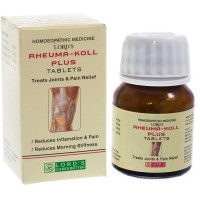 Lords Rheuma Koll Plus Tablets (25g) : For Sprains, Stiffness of Muscles, Swellings, Pains, Sciatica, Joint pain
