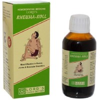 Lords Rheuma Koll Syrup (115ml) : Decreases Swelling, Stiffness, Pain in Joints, useful in Gout and Uric Acid