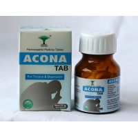 SKRL Acona Tablets - Homeopathic remedy for Anxiety & Stress Relief