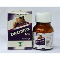 Dromex Tablets - Homeopathic Remedy for Acute and Chronic Cough