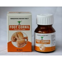 Skrl Foot Cornil Tablets - Homeopathic Remedy For Foot Corns