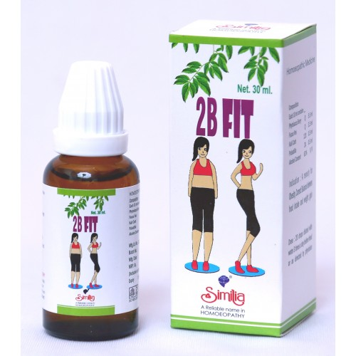 Similia Homoeo 2b Fit Drops 30ml | For Obesity