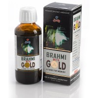 Similia Homoeo Brahmi With Gold 100 Ml   Memory Booster
