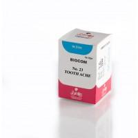 Similia Homoeo Biocom No.23 Bio-combination Tablets 25 Gm - Tooth Ache