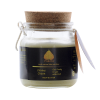 Prakrta Divine Cocoa Body Butter - Raw Cocoa Butter For Skin, Feet,face, Lips, Baby Skin And Even Expecting Moms, 85 Gms