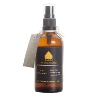 Prakrta Skin Treat 'Mint' Body & Hair Oil - Virgin Coconut Oil With Neem & Mint   Multi-purpose Oil For Skin + Hair   All Organic Ingredients  100 Ml
