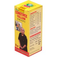 Biohome Constipex Yellow Drops (30ml) : Chronic Constipation with No Desire to Pass Stool, Hard and Black Stools