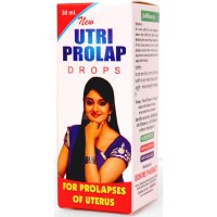 Biohome Utri Prolap Drops (30ml) : Helps in Displaced Uterus, Back Pains, Excessive Bleeding