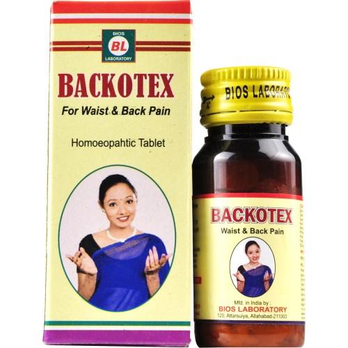 Bios Lab Backotex Tablet (25g) : For Lumbago, Back Pain, Relieves Stiffness, Pains, Sciatica, Spondylitis