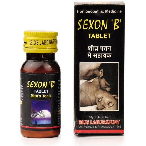 Bios Lab Sexon B Tablet (25g) : For Males in erectile dysfunction, premature ejaculation, stamina