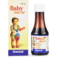Haslab Baby Tone Up Syrup (100ml) : Tonic for Children, Promotes Physical Growth, Helps Digestion, Dentition